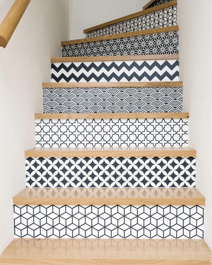 Les 25 Meilleures Id Es Concernant Escalier Blanc Sur