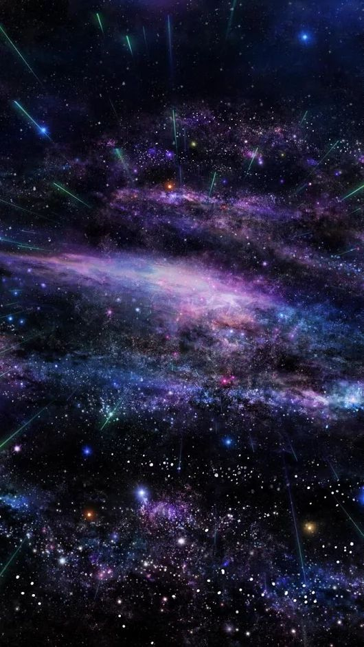"""Space is a place so unfathomablely large we simply call it """"space"""" and the th..."""