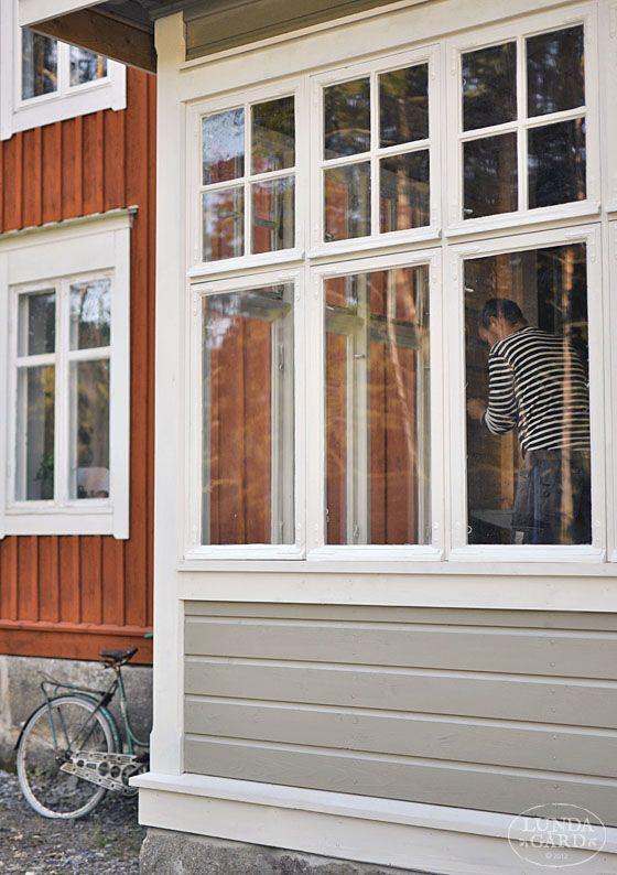 L U N D A G Å R D   inredning, familjeliv, byggnadsvård, lantliv, vintage, färg & form: Fönster