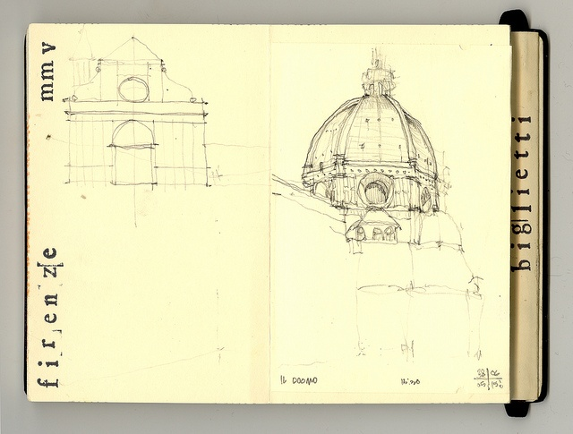 italia_florence sketch duomo by chrisC2000, via Flickr