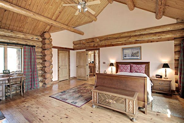 Contemporary Log Bedroom Sets For Your Cabin Bedroom