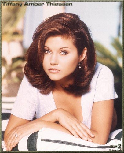 tiffani amber thiessen hair - Google Search