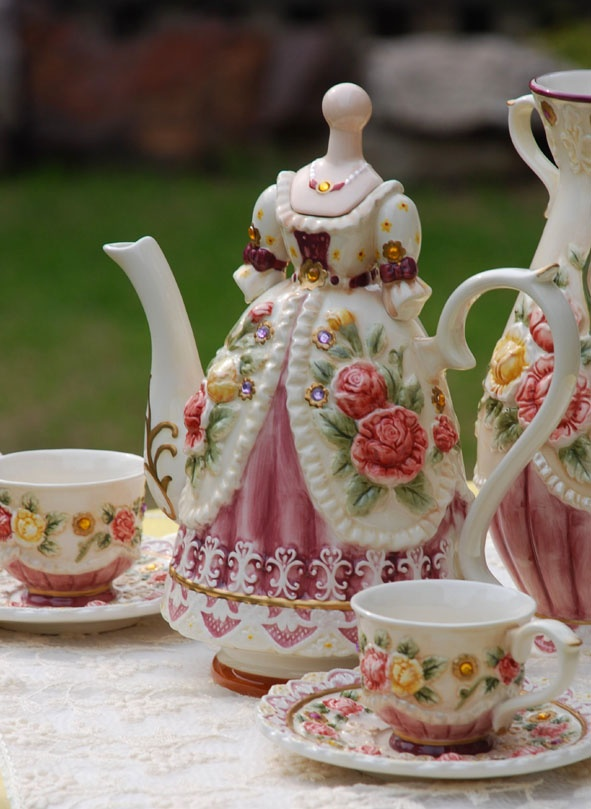 194 best images about shabby chic tea party ideas on for Victorian tea party supplies