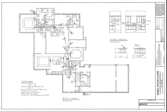 House electrical layout