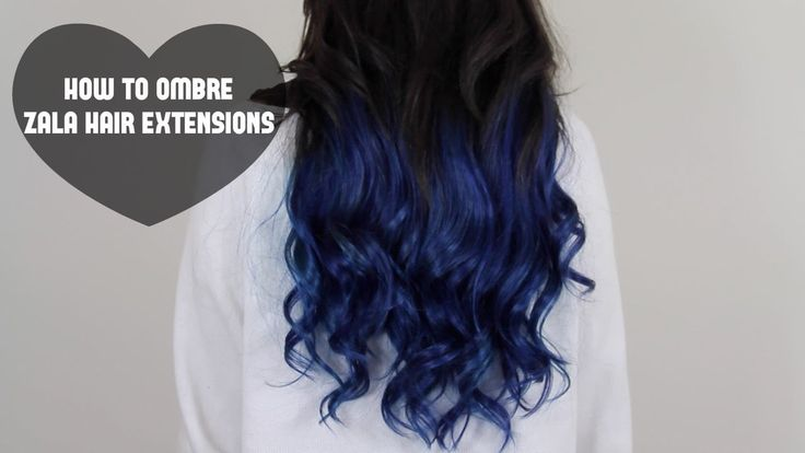How to dip dye hair Ombre hair extensions Balayage hair extensions