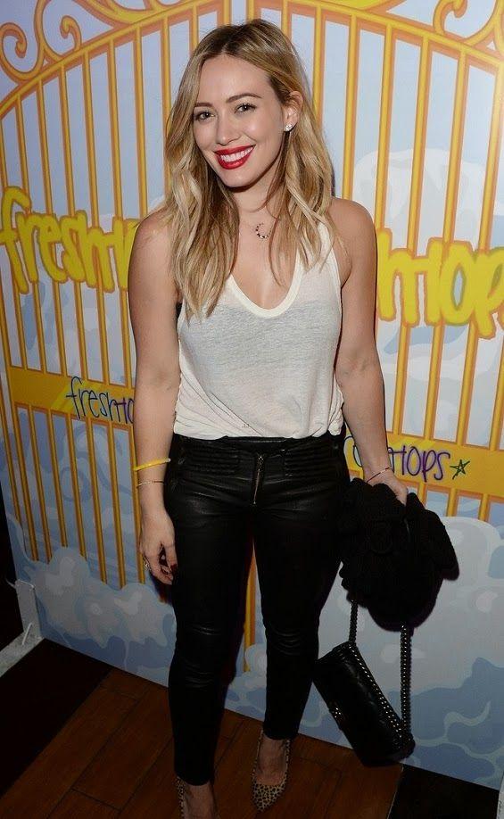 """Hilary Duff au """"Fresh-Tops Selena Gomez Concert Viewing Party"""" à Los Angeles - 06.11.2013"""