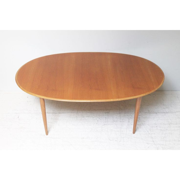 Image Of Oval Teak Dining Table By Parker Furniture Dining Table Teak Dining Table Parker Furniture