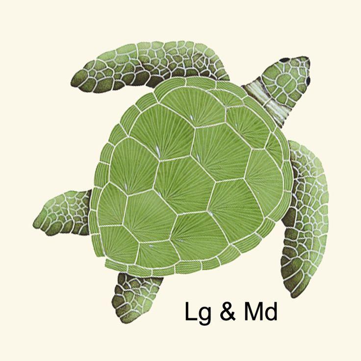 Artistry In Mosaics TLOGRES, Artistry In Mosaics TLOGREM, Artistry In Mosaics TLOGREL,  ,  ,  ,  ,  , Decorative pool mosaic tiles - Turtles, Mermaids and Gators