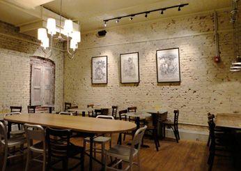 Pavement coffee shop, Boston MA