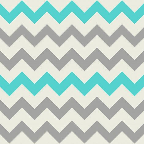 Aqua Grey Chevron fabric... would be great curtains for kitchen/dining room which is going to be these colours... can't wait!!
