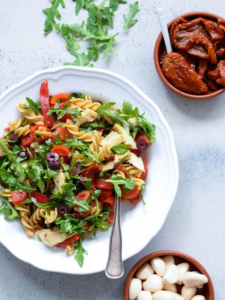 Vanløse blues.....: MIDDELHAVS PASTA SALAT - salaten til dine grillaftener ( V + GF )