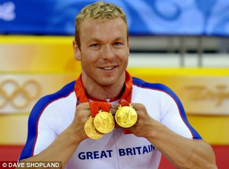 Sir Chris Hoy (Braveheart) 6 Olympic gold medals and the captain of team GB cycling team. An inspiration of what hard work and dedication will achieve. #SirChrisHoy #Hero