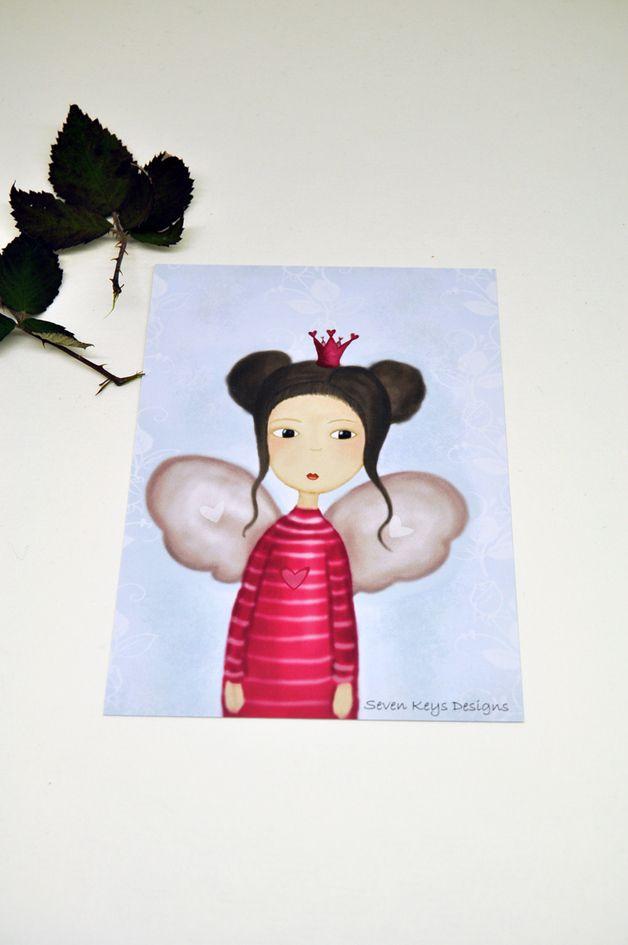 """Melina the little fairy "" postcard 2,50 €"