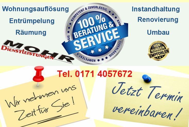 MOHR Dienstleistungen  Einer für alles - sicher nicht, aber einer für vieles! www.mohr-dienstleistungen.de