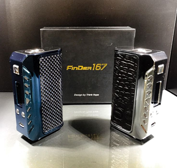 New to Vape Invaders! The Thinkvape Finder 167 TC VW Box Mod is a sleek and beautifully designed piece and is now available here in store! It is powered by Evolv DNA 167 chip and the VW range is from 5W to 167W and is powered by dual 18650 batteries and supports USB charging. Available in royal blue with carbon fiber pattern and silver with leather. #ThinkVape #Finder167 We're conveniently located at 📍 7033 Telford Way Unit 5 Mississauga