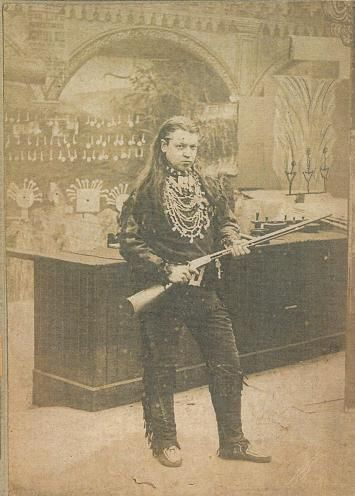 Montana Bill,'The Renowned Indian Fighter & Canadian Scout The Most Remarkable Marksman Living. See him Shoot! Buffalo Bill's Righthand Man.'