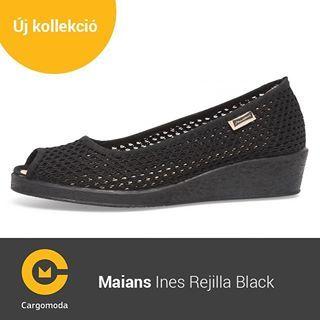 Maians Ines Rejilla Black - Megérkezett az új tavaszi-nyári Maians kollekció! www.cargomoda.hu #cargomoda #maians #madeinspain #handcrafted #springsummercollection #spring #summer #mik #instahun #ikozosseg #budapest #hungary #divat #fashion #shoes #fashio