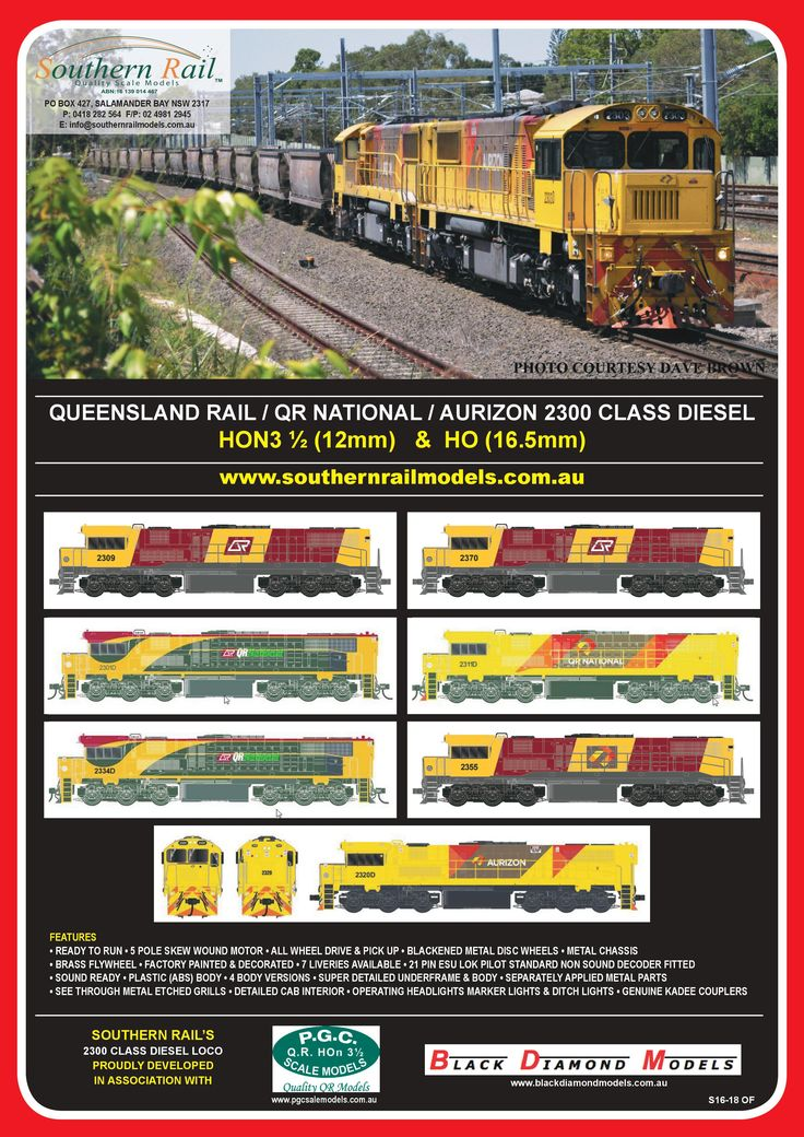 Southern Rail Models & Future Releases