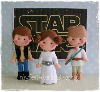 My Felt: felt star wars