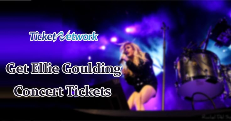 Get Ellie Goulding Concert Tickets at #TicketNetwork  #Enjoy #Concert #Fun #Music #Entertainment #Live
