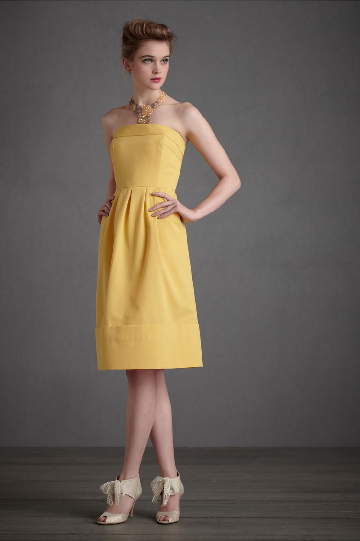 Necklace Gray and Yellow Bridesmaids Dresses