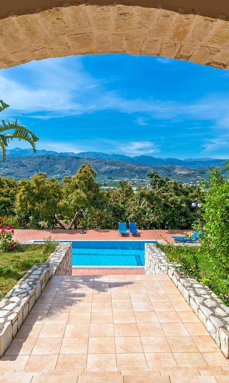 Villa Minas in Galatas, Chania
