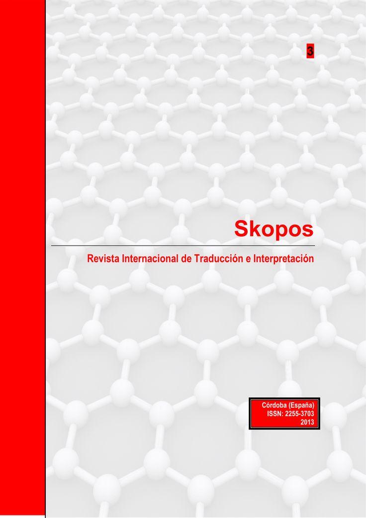 #Editorial Skopos 3. Revista Internacional de Traducción e Interpretación