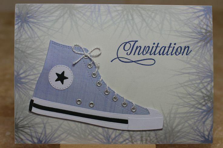 My favorite things Die-namics LLD All-Star High Tops, Mademoiselle Toga étoiles, Invitation « Ecris-moi » (CA-17) kesi'art