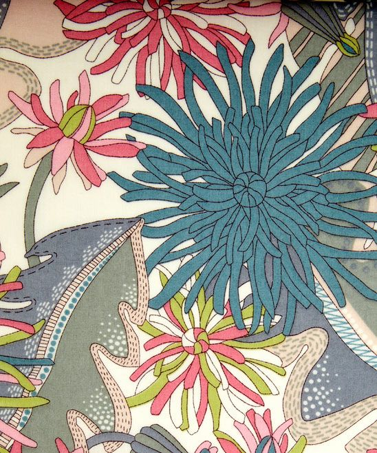 Liberty Fabric form the SS12 inspired by the Glencot House in Somerset.