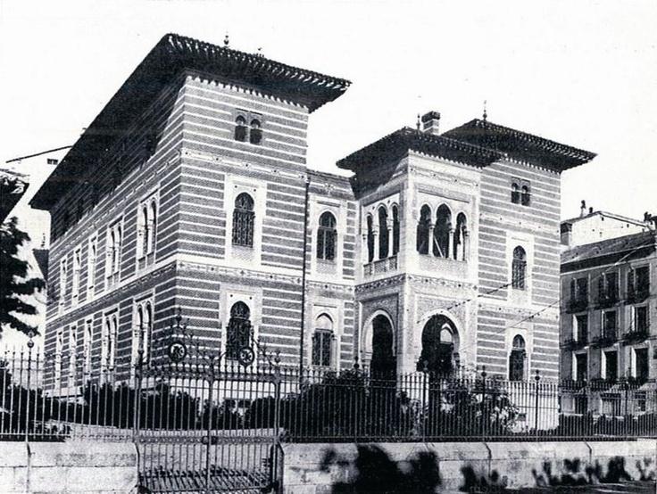 Palacio xifr palacios desaparecidos de madrid for Piscina municipal arganzuela