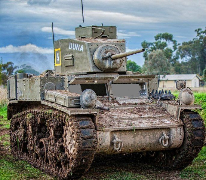 For sale: Original M3 Stuart Tank, a nice little toy in very tidy condition, only $140,000 USD