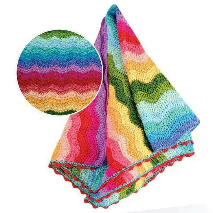 Rainbow ripple inspiration