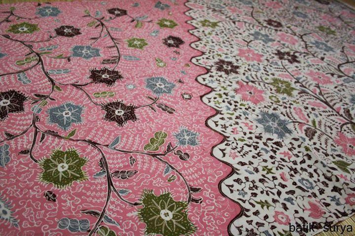 Batik tulis Indramayu, Siang malam kembang pete. From Batik Surya Paoman