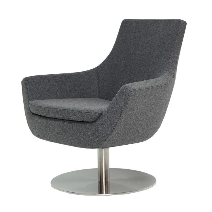rebecca swivel armchair