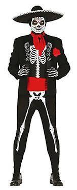 Guirca Disfraz Mexican Skelenton Adulto (Kids , Toys , Costumes)