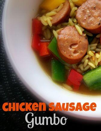 Easy Chicken Sausage Gumbo Recipe
