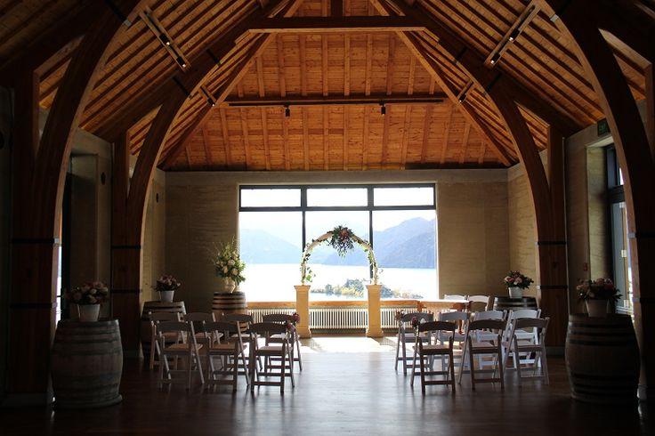 Wedding archway at Rippon Hall, Wanaka http://www.wanakaweddingflowers.co.nz