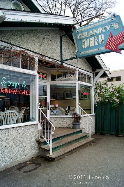 The Cannery Cafe (Grannys Diner) - Steveston Village, BC | Love of Eating - Kamloops Food Blog
