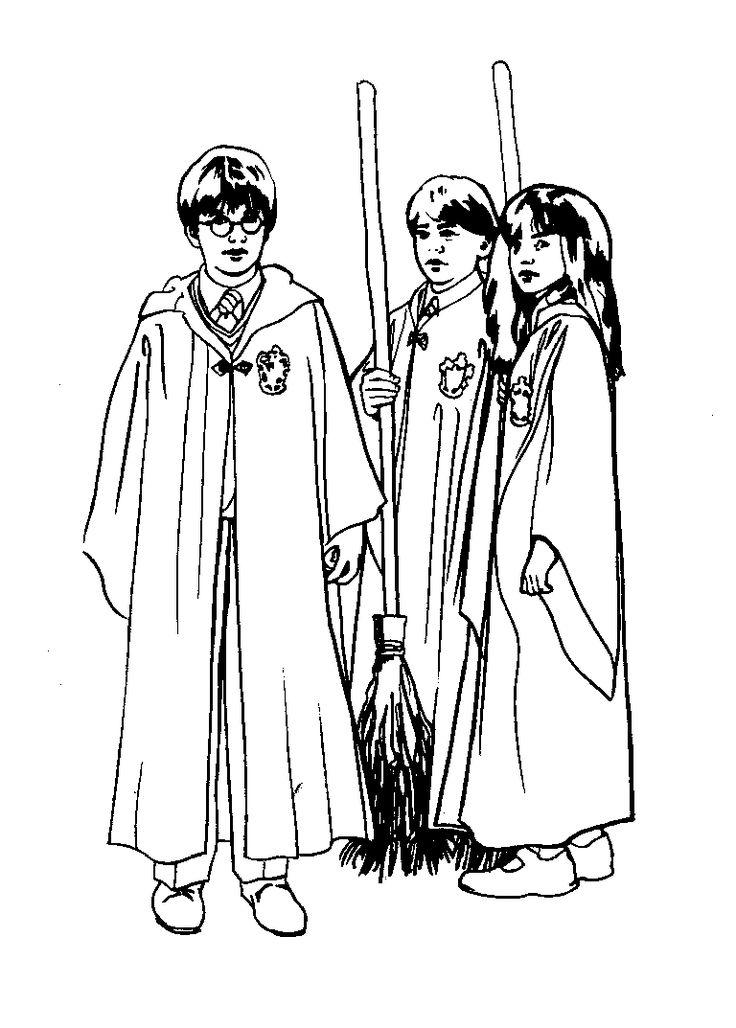 167 best Kleurplaten Harry Potter images on Pinterest Coloring