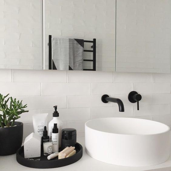 Einfache Möglichkeiten, Ihrem Badezimmer Stil zu verleihen – #Add #Bathroom #Easy #moderndecoration …