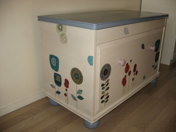 chest decoupage