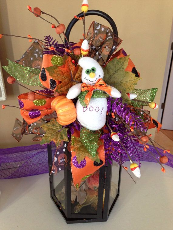 halloween ghost decoration swag for lanterns - Decoration Halloween