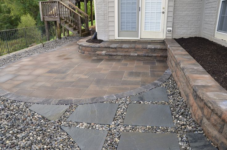 Patio And Steppers Ft Washington Md Patio Constructed