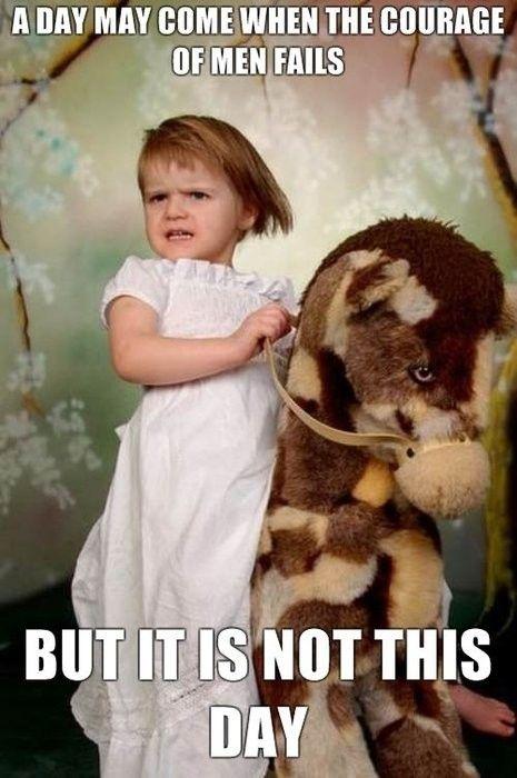 LOTR fierce toddler