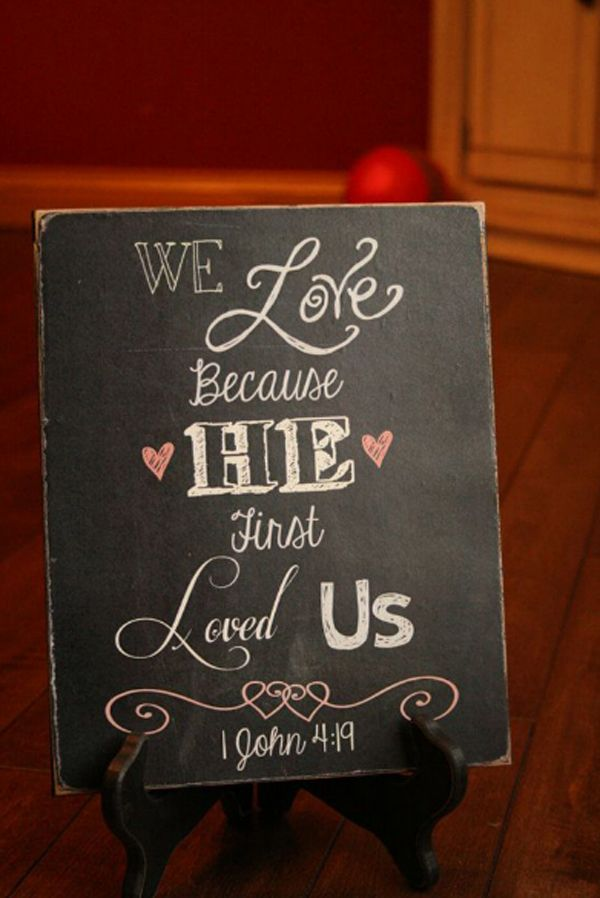 15 Romantic Chalkboard Ideas For Valentine's Day