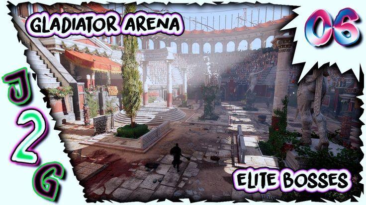 AC Origins #06 🎮 Gladiator Arena Elite Bosses
