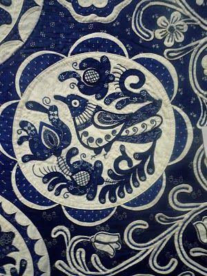 Hungarian Blue Quilt