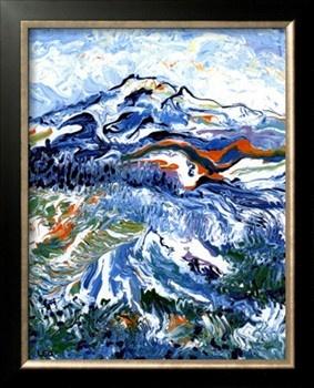Mt Rainier by Leone Ardo