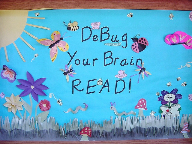 SPRING: Debug Your Brain Read by Love Your Library  :-), via Flickr