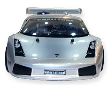 Gas Powered Lamborghini RC Car - Silver.  Bid or Buy Now from the QuiBids Store for $349.99 and receive 35 FREE Bids.